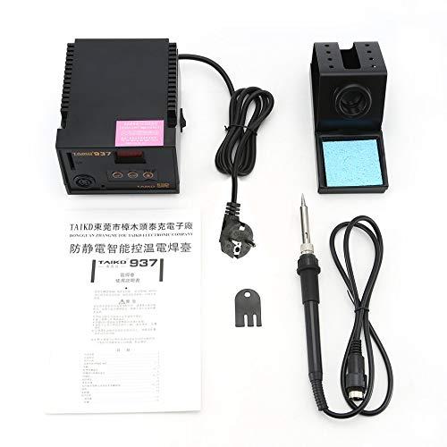 Silverdrew 937 LED Pantalla Digital Estación de Soldadura sin Plomo 70W Soldador eléctrico Temperatura Constante Soldadura antiestática