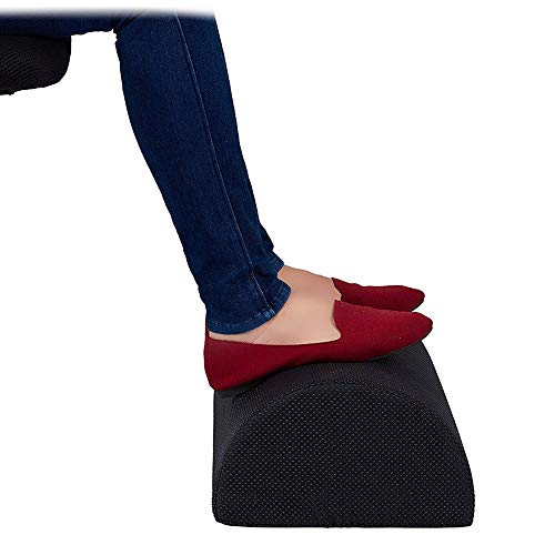 Konesky Foot Rest Cushion Under Desk Foot Taburete Cilindro