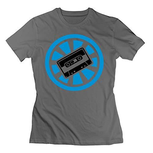 Cassette Electro Minimal Womens Tshirts