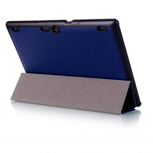 Case für Lenovo Tab 2 A10-30 A10-70F / Tab 10 TB-X103F 10.1 Zoll Schutzhülle mit Auto Sleep/Wake + Touchpen Blau