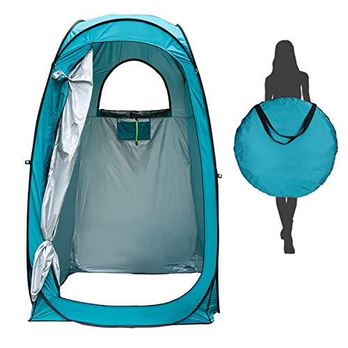 Tenda da Bagno Campeggio Esterni, Tenda per la Privacy Pop-up, Tenda da Toilette Portatile,...