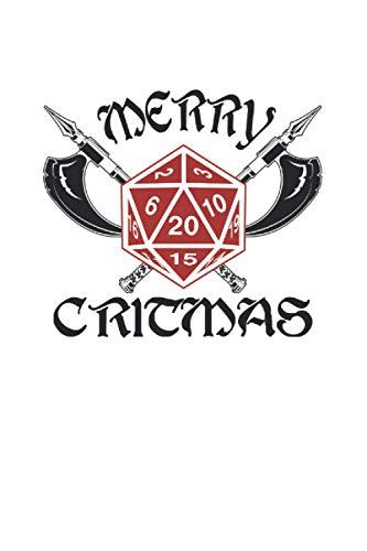Kalender 2021: Gamer Weihnachten Critmas Rpg Geschenk 120 Seiten, 6X9 (Ca. A5), Jahres-, Monats-, Wochen- & Tages-Planer