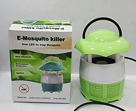 yupzob Electronic LED Eco-Friendly Photocatalyst Mosquito Insect Repellent Killer Lamps Trap Machine