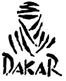 1st-Class-Designs Adhesivo con el Logotipo del Rally Paris-Dakar para automóvil o Bicicleta