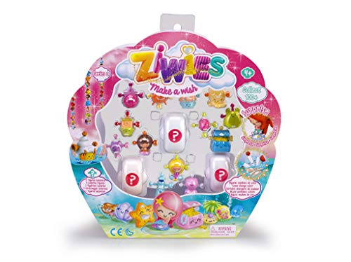 Ziwies - Pack 16 figuritas coleccionables, para niños y ni�