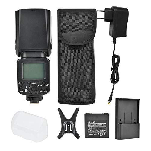 FOLOSAFENAR Robuste Kamera Speedlite Nicht aktuelle Kamera Taschenlampe, Angeln, Angelliebhaber(European Standard 100-240V)