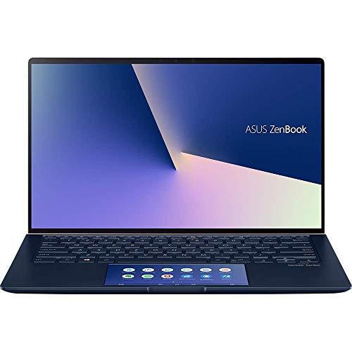 ASUS ZenBook 14 mit Screenpad 2.0, UX434FLC-A5179T (90NB0MP5-M04250) 35,5 cm (14 Zoll, Full HD, WV, matt),(Intel Core i7-10510U, NVIDIA GeForce MX250 (2GB), 16GB RAM, 512GB SSD, Windows 10) Royal Blue