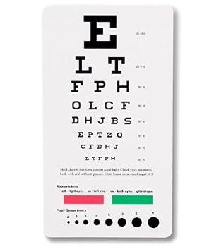 EMI Snellen Pocket Eye Chart EC-PSN