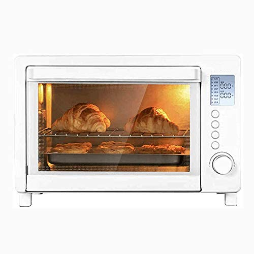 Gezonde Keuken Oven, Kleine en multi-functionele automatische Cake Brood Barbecue broodbakautomaat, Unified Temperature Control for Eerste en Tweede Pipes, 1600W High Power Oven