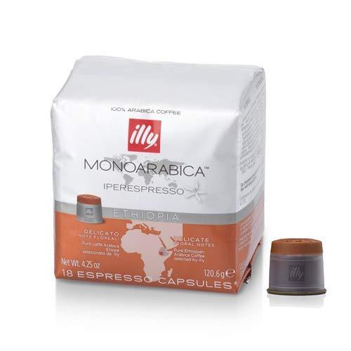 108 Capsule Caffe' Illy Iperespresso Monoarabica Etiopia