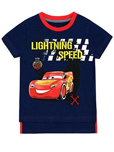 Disney Cars Jungen Cars Lightning McQueen T-Shirt 122