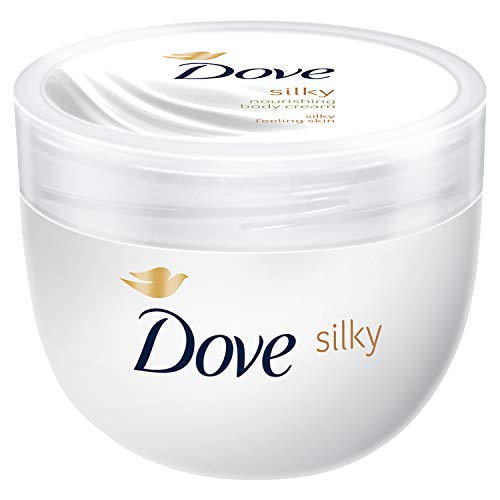 Dove Silky Body Cream Pot 300ml