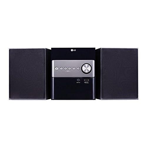 LG CM1560 - Microcadena (10 W, Bluetooth 4.0, USB), color negro