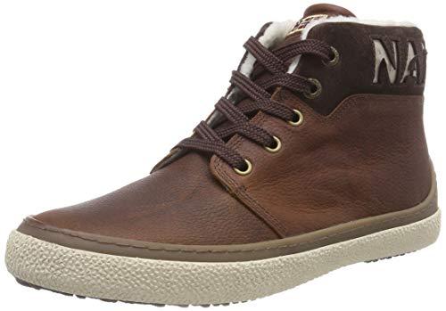 Napapijri Footwear Herren Jakob Hohe Sneaker, Braun (Cognac N45), 40 EU