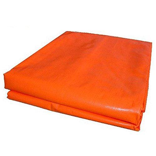 MEIDUO Bâches Protection Solaire imperméable Bleue de bâche de Voiture de bâche de Tissu tissé par PE Bleu 160g / m², épaisseur 0.35mm pour l'extérieur (Taille : 5 * 6m)