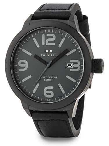TW Steel Herren Uhr Armbanduhr Marc Coblen Edition TWMC52 Lederband