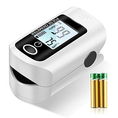 Pulse Oximeter NHS Approved UK,Pulse Oximeter Fingertip,Sp02 Blood Oxygen Saturation Monitor,High Precision Portable Oximeter for Adult Child