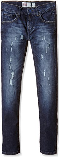 Levi's Kids Pant 510 Jeans, Bleu Indigo (46), 14 Ans Fille