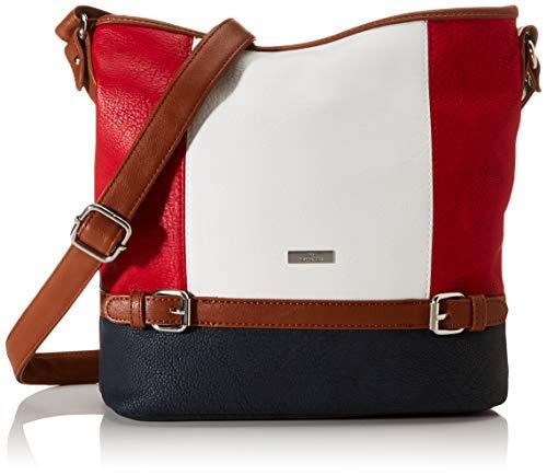 TOM TAILOR Schultertasche Damen Juna, Maritim(mixed), one size, Handtasche, Tasche Damen