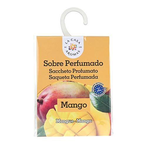 Sobres Perfumados, Bolsitas Aromáticas Aroma Mango, Saquitos para el Armario, Cajón, Ropa de Bebé, Zapatero, Maleta (Mango, 1 PC)