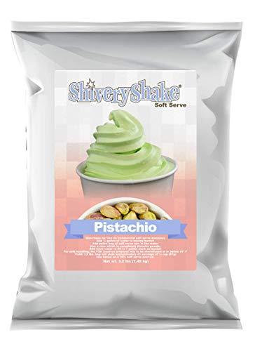 ShiveryShake Pistachio Soft Serve Ice Cream Mix