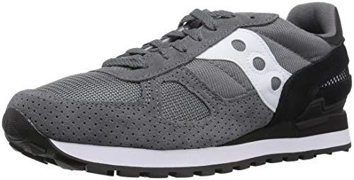 Saucony Originals Shadow Orginal Chaussures de Sport pour Homme - Gris - Gris/Noir, 41 EU