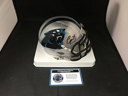 Josh Norman Signed Autographed Carolina Panthers Speed Mini Helmet Witnessed COA & Hologram