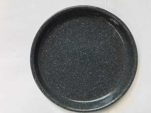 K & K sotto ciotola/sottovaso rotondo per vaso venus II senza e con manico, 32x 23cm–Ø 26cm, granito in gres (ceramica di alta qualità)