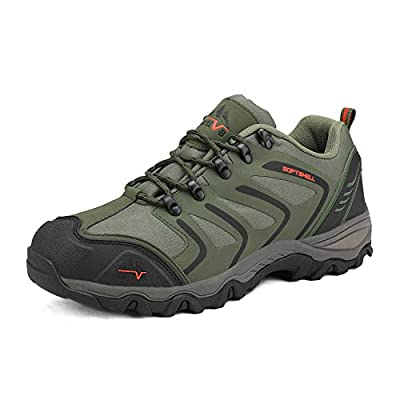 NORTIV 8 Men's Low Top Waterproof Hiking Boots Outdoor Lightweight Shoes Backpacking Trekking Trails