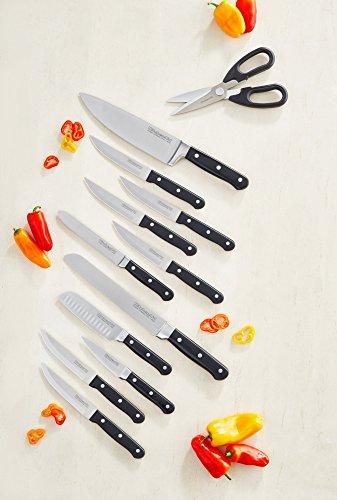 KitchenAid KKFTR16SL 16 Piece Classic Forged Series Triple Rivet Cutlery Set, Silver