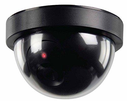 C63® - Dummy CCTV Dome Camera. Diefstal Deterrent. Zwart