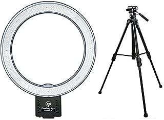 Diva Ring Light Nebula LED Photo/Video light with Video Tripod