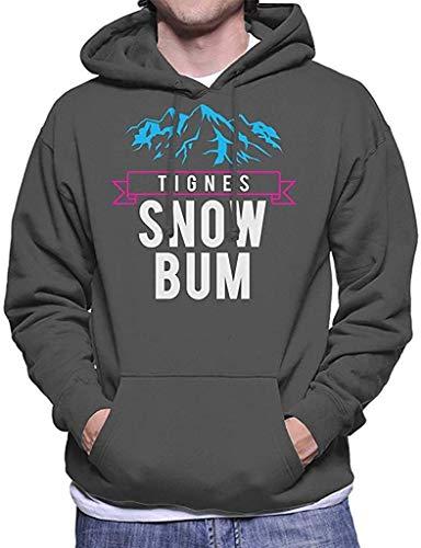 lifangtaoT Tignes Snow Bum - Sudadera con capucha para hombre