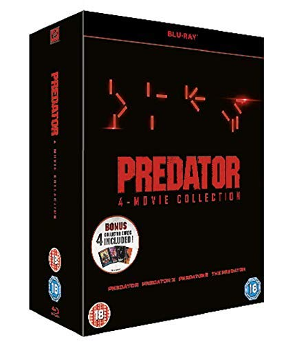 Predator Collection - 4 movies [Blu-ray]