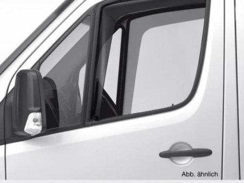 ClimAir CL 46066D Windabweiser Schwarz passend für Mercedes Sprinter 2005-2017 / Volkswagen Crafter 2006-2017