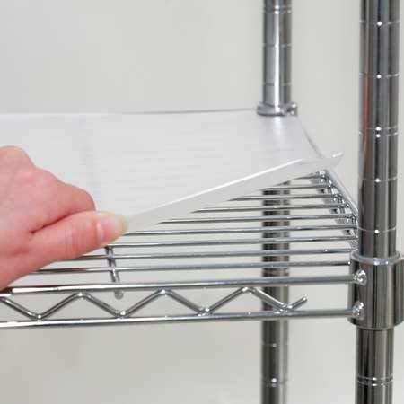 Shelf Liner 48 x 24 in Clear PK4