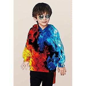 TUONROAD-Jungen-Mdchen-Fashion-Kapuzenpullover-Kids-3D-Bedruckt-Sweatshirts-Pullover-Casual-Frhling-Herbst-Kostme-6-16-Jahre