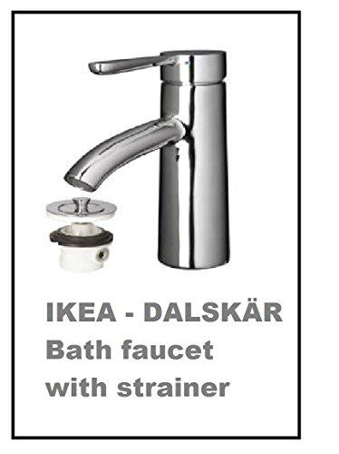 IKEA DALSKAR Badewannenarmatur mit Sieb, verchromt von IKEA