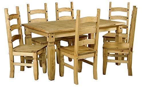 Corona Essgruppe mit 6 Stühlen