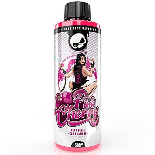 Nuke Guys - Pink Cherry Autoshampoo 500ml - hochschäumend, ultra Reinigungskraft - Autopflege - Handwäsche - Beyond Chemical - Detailing Lifestyle