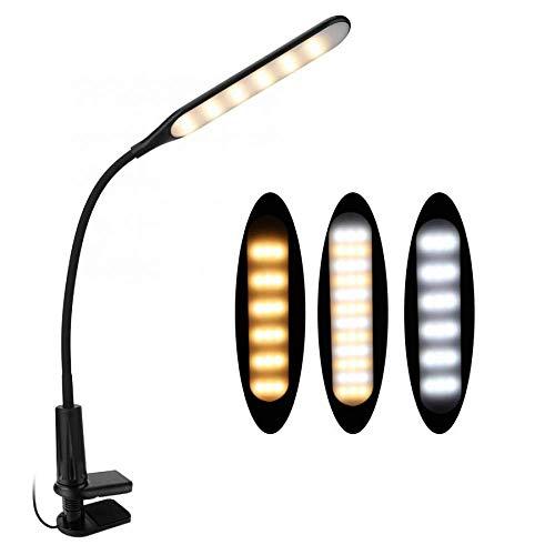 Nail Art Apparatuur LED USB Oogverzorging Nagel Art Bureau Tafellamp Clip-On Leeslamp Voor Manicure Nagel Gereedschap Nagel Kunstlicht