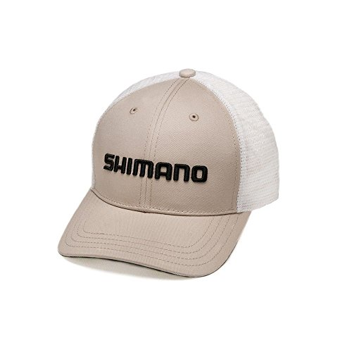 SHIMANO Smokey Trucker Cap, Herren, Stone, Einheitsgröße
