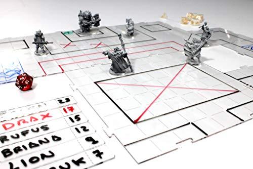 Warprint Pack Tablero Combate RPG - Battle Board RPG