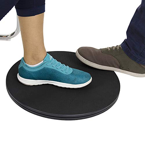 Vive Pivot Disc - Patient Transfer Board - Mobility Standing Device - 360 Degree Rotation for Transferring and Direction Change - for Elderly, Seniors and Disabled - Non-Slip 16 Inch Diameter