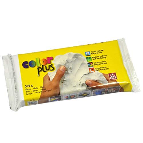 SIO-2 Colorplus 24520002 Pâte à modeler Autodurcissante Blanc