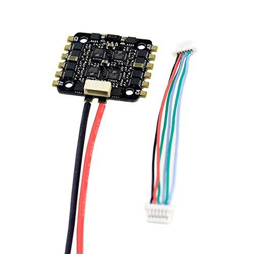 Silverdrew 15A 4-EN-1 BLHELI_S ESC Mini F3 F4 Tablero Controlador de Vuelo Barómetro Incorporado OSD 20x20mm Soporte sin escobillas 4S para FPV Drone