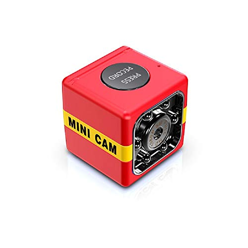 CAIXIAN Fx01 USB 1080P Mini Cámara Portátil Cámara de Coche de Cubo Mini Cámara de Seguridad Grabadora de Conducción con Micrófono Cámara de Detección de Movimiento de Visión Nocturna