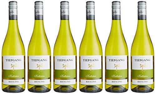 Tiefgang Qualitätswein Pfalz Riesling Trocken Blanc Weißwein, 6 x 0.75 L