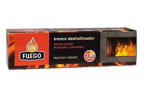 TRONCO Deshollinador de Estufas y chimeneas OK FUEGO