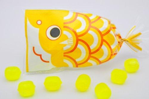 こどもの日 プチ京鯉のぼり 1ケース 50袋入り 黄(レモン)
